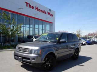 Used 2010 Land Rover Range Rover SPORT SUPERCHARGED for sale in Abbotsford, BC