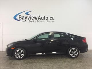 Used 2016 Honda Civic LX - AUTO! ECO MODE! HEATED SEATS! REVERSE CAM! HONDA LINK! for sale in Belleville, ON