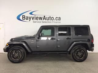 Used 2017 Jeep Wrangler Unlimited Sahara 75TH ANNIVERSARY EDITION- 6 SPD! HTD STS! NAV! 2 TOPS! for sale in Belleville, ON