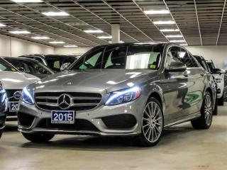 Used 2015 Mercedes-Benz C-Class C400 4Matic Sedan for sale in Thornhill, ON