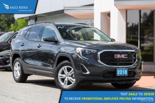 New 2018 GMC Terrain SLE Diesel Backup Camera, Heated Seats, 4WD for sale in Port Coquitlam, BC