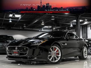 Used 2015 Jaguar F-Type S NAVI BLINDSPOT VALVETRONIC EXHAUST REAR CAM LOADED for sale in North York, ON