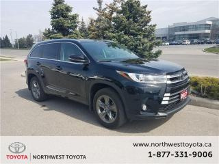 Used 2017 Toyota Highlander LIMITED  for sale in Brampton, ON