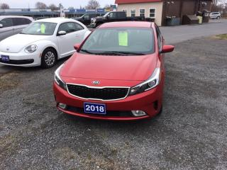 Used 2018 Kia Forte LX+ lx plus for sale in Morrisburg, ON