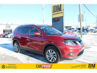 Used 2015 Nissan Rogue SL AWD CUIR TOIT PANO NAVIGATION for sale in Salaberry-de-Valleyfield, QC