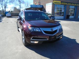 Used 2013 Acura MDX Tech pkg for sale in North York, ON