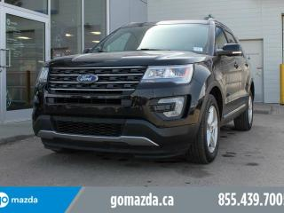 Used 2017 Ford Explorer XLT LEATHER SUNROOF NAV AWD LOADED for sale in Edmonton, AB