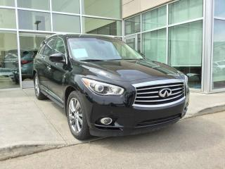 Used 2015 Infiniti QX60 DELUXE TOURING/HEATED AND COOLED SEATS/DVD/NAVIGATION for sale in Edmonton, AB