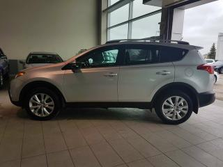 Used 2013 Toyota RAV4 Limited - Heated Leather, B/U Cam, Sunroof + Remote Start! for sale in Red Deer, AB