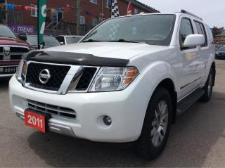 Used 2011 Nissan Pathfinder 7 Pass/Bk-up Cam/Bluetooth/Leather/No Accidents for sale in Scarborough, ON