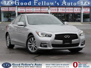 Used 2014 Infiniti Q50 PREMIUM, AWD, LEATHER SEATS, HEATED SEATS, NAVI for sale in North York, ON