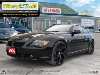 Used 2006 BMW 6 Series 650Ci for sale in Tilbury, ON