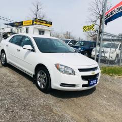 Used 2012 Chevrolet Malibu APPROVED 100% - 2.4L ECONOMICAL PLATINUM EDITION for sale in Toronto, ON