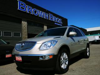 Used 2008 Buick Enclave CX, DVD, Leather, HID h/lights for sale in Surrey, BC