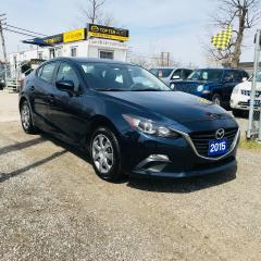 Used 2015 Mazda MAZDA3 PRE-OWNED CERTIFIED - IMPORT SEDAN for sale in Toronto, ON