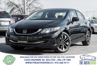 Used 2015 Honda Civic EX Sunroof + Rear Camera New Tires + Brakes for sale in Caledon, ON