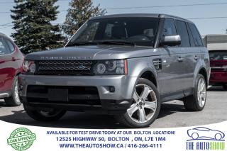 Used 2013 Land Rover Range Rover Sport HSE LUX CLEAN CARPROOF for sale in Caledon, ON