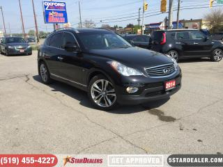 Used 2014 Infiniti QX50 Journey | AWD | NAV | LEATHER | ROOF | CAM for sale in London, ON