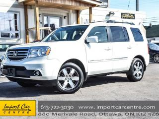 Used 2015 Honda Pilot Touring LEATHER DVD SUNSHADES for sale in Ottawa, ON