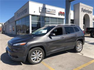 Used 2014 Jeep Cherokee Limited..Leather/Pan Roof for sale in Burlington, ON