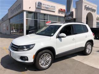 Used 2016 Volkswagen Tiguan COMFORTLINE for sale in Burlington, ON