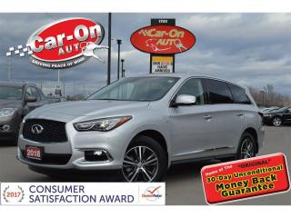 Used 2018 Infiniti QX60 AWD LEATHER NAV SUNROOF REAR CAM HTD SEATS LOADED for sale in Ottawa, ON