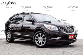 Used 2016 Buick Enclave Premium Black Diamond Edt. Nav 20whls for sale in Thornhill, ON