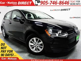 Used 2017 Volkswagen Golf 1.8 TSI Trendline| TOUCH SCREEN| HEATED SEATS| for sale in Burlington, ON
