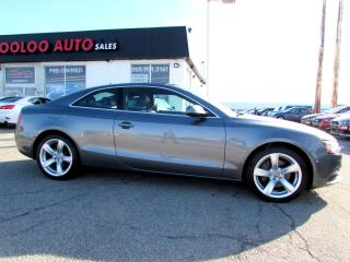 Used 2013 Audi A5 Coupe 2.0T quattro Tiptronic Bluetooth Certified 2YR Warranty for sale in Milton, ON