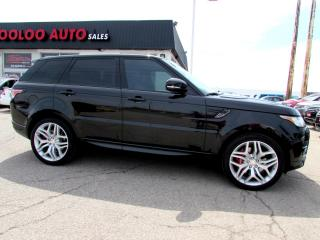 Used 2014 Land Rover Range Rover Sport 5.0L V8 Supercharged Autobiography Navi DVD Camera Certifdied for sale in Milton, ON