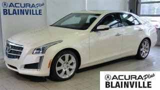 Used 2014 Cadillac CTS 3.6L PREMIUM for sale in Blainville, QC