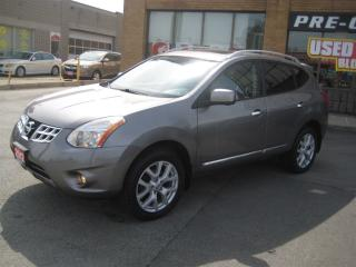 Used 2012 Nissan Rogue SL (CVT)/AWD/NAVIGATION/LEATHER/SUNROOF/360CAMERA for sale in North York, ON