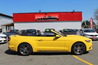 Used 2017 Ford Mustang EcoBoost Premium Convertible for sale in Surrey, BC