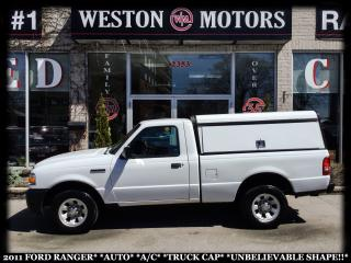 Used 2011 Ford Ranger AUITO*A/C*TRUCK CAP*UNBELIEVABLE SHAPE!!* for sale in York, ON