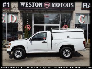 Used 2012 Chevrolet Colorado LT*A/C*AUTO*ROOF RACKS*TRUCK CAP!!* for sale in York, ON