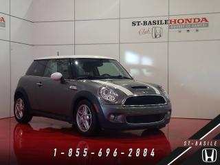 Used 2010 MINI Cooper S 3 portes ENSEMBLE INDISPENSABLE + BANCS for sale in St-Basile-le-Grand, QC