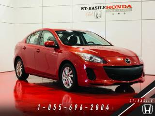 Used 2012 Mazda MAZDA3 Berline GX AC + PACKAGE COMMODITÉ + BANC for sale in St-Basile-le-Grand, QC