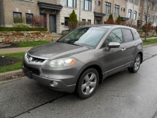 Used 2007 Acura RDX SH-AWD, SUNROOF, NO ACCIDENTS, CERTIFIED for sale in Etobicoke, ON
