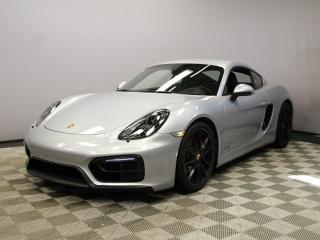 Used 2016 Porsche Cayman Cayman GTS for sale in Edmonton, AB