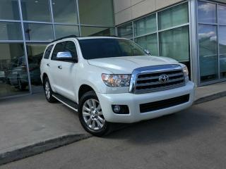 Used 2010 Toyota Sequoia PLATINUM/4WHEEL DRIVE/DVD/NAVIGATION/BACK UP CAMERA for sale in Edmonton, AB