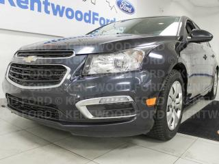 Used 2016 Chevrolet Cruze Limited 1LT in casual blue. A colour you'll never get tired of for sale in Edmonton, AB
