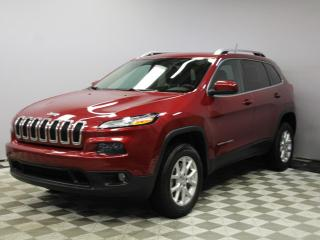Used 2014 Jeep Cherokee North 4x4 3.2L - Local Alberta Trade In | No Accidents | Factory Remote Starter | 17 Inch Wheels | Roof Rails | Bluetooth | Upgraded Media Screen | Climate Control with AC | Heated Seats | Heated Steering Wheel | All Power Options | AUX/USB Input | Well L for sale in Edmonton, AB