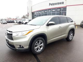 Used 2015 Toyota Highlander LE Front Wheel Drive for sale in Ottawa, ON