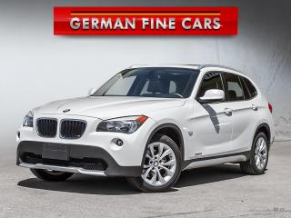 Used 2012 BMW X1 **xDrive, Bluetooth, Sunroof, ONLY 64,000 Km** for sale in Caledon, ON