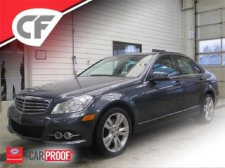 Used 2013 Mercedes-Benz C-Class C 300 Awd Cuir, Ordi for sale in Lévis, QC