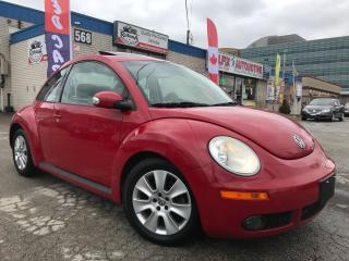 Used 2010 Volkswagen Beetle 2.5L LEATHER_SUNROOF_LOW KMS for sale in Oakville, ON