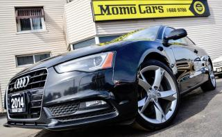 Used 2014 Audi A5 2.0 T QUATTRO+Bluetooth! ONLY $187/bi-weekly for sale in St Catharines, ON