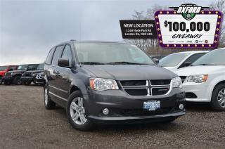 Used 2017 Dodge Grand Caravan Crew Plus - pwr doors, back up cam, heated seats for sale in London, ON