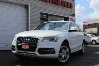 Used 2014 Audi Q5 2.0 T Quattro. S Line. Navi. Pano. Blind Assist for sale in North York, ON