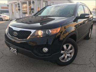 Used 2012 Kia Sorento LX|Accident free|One Owner|Heated Seat|Rear Sensor for sale in Burlington, ON